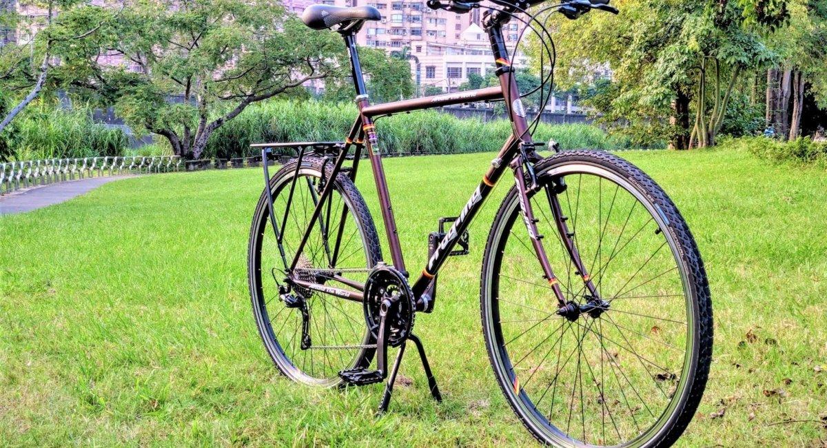 30 gears touring bike
